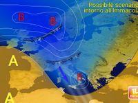 METEO:  Immacolata e previsioni per il Ponte di Sant'Ambrogio (7 e 8 Dicembre). GELO e NEVE com d' INVERNO ?
