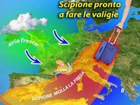 METEO ~ l'anticiclone SCIPIONE soffoca l'Italia, ma nel weekend ci saluta!