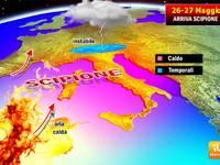 METEO: SCOPPIA il CALDO; arriva l'anticiclone Africano Scipione. Weekend 26-27 Maggio a 33°C