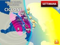 Meteo: SETTIMANA, Maltempo OSTINATO su Parte dell'Italia. Prima PIOGGE, poi Nuovo Ciclone in Arrivo. Ecco Dove