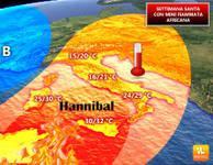 METEO: PASQUA infiammata da Hannibal, l'anticiclone africano su quasi tutta Italia [VIDEO]