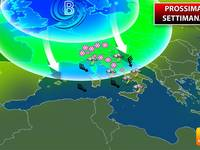 Meteo: PROSSIMA SETTIMANA, da Lunedì Maltempo, poi Doppio CICLONE Polare con NEVE a Bassa Quota. Ecco i Dettagli