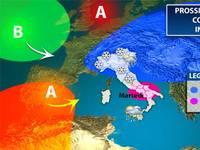Meteo: PROSSIMA SETTIMANA con svolta invernale sul nostro Paese. I dettagli