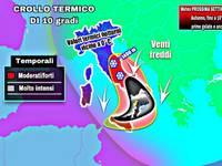 Meteo PROSSIMA SETTIMANA: benvenuto Autunno quasi INVERNO, fino a 10°C in meno, prime gelate e anche la neve