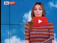 Meteo DIRETTA VIDEO SKY-Tg24: Sara Brusco, primi segnali di cambiamento, nuvole da nord a sud