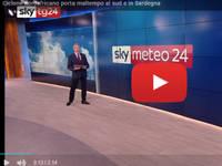 Meteo DIRETTA VIDEO SKY-Tg24: Lorenzo Tedici, ciclone nordafricano porta maltempo al Sud e in Sardegna