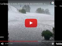 Meteo Cronaca DIRETTA: SPAGNA, Grandinata ESTREMA provoca GRAVI DANNI a CASTELLON. Il VIDEO