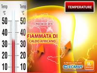 Meteo: TEMPERATURE, quanto durerà la FIAMMATA di CALDO AFRICANO con PICCHI di 35°C?