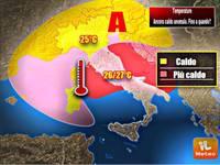 Meteo: TEMPERATURE,  caldo anomalo a 28 gradi sull'Italia. Vi sveliamo quando finirà