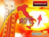 Meteo: TEMPERATURE, a BREVE la prima INTENSA ONDATA di SUPER CALDO, PICCHI di 40°C. Vi diciamo da QUANDO e DOVE