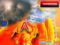 Meteo: FIAMMATA AFRICANA con TEMPERATURE fino a 38°C! Ma qualcosa sta per CAMBIARE. Gli AGGIORNAMENTI