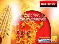 Meteo: COLPO di SCENA! Torna il CALDO AFRICANO con TEMPERATURE a oltre 35°C. Vi DICIAMO da QUANDO e DOVE