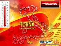 Meteo: CHE SORPRESA! Torna il CALDO AFRICANO, tra poco TEMPERATURE a oltre 35°C. Vi diciamo QUANDO e DOVE