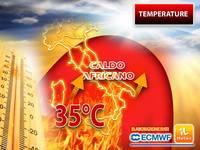 Meteo: ecco il CALDO AFRICANO! Tra poco TEMPERATURE fino ad oltre 35°C. ZONE coinvolte e DURATA della FIAMMATA