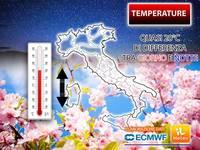 Meteo: TEMPERATURE STRAMBE, quasi 20°C di DIFFERENZA tra Giorno e Notte. Vi Spieghiamo il MOTIVO e le PROSPETTIVE