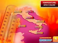 Meteo: TEMPERATURE in CRESCITA! CALDO e AFA Pronti a Riconquistare l'ITALIA. Ecco Fino a Quando Durerà