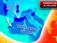Meteo: TEMPERATURE al COLLASSO, GELIDO AMMASSO all'attacco dell'Italia. Ecco dove farà più FREDDO