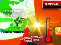 Meteo: TEMPERATURE in FLESSIONE, l'ITALIA respira, ma presto torneremo a quasi 40 gradi. Ecco da QUANDO