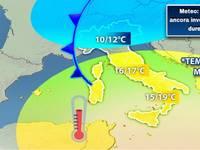 Meteo: TEMPERATURE ancora invernali. Ecco quanto durerà il FREDDO