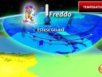 Meteo: TEMPERATURE, il FREDDO Travolge l'Italia con Estese Gelate. Ecco DOVE si Batteranno i Denti