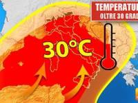 Meteo: TEMPERATURE sempre più ALTE, si vola OLTRE i 30 gradi. Ecco DOVE e QUANTO durerà il CALDO ANOMALO