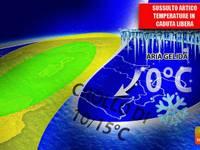 Meteo: TEMPERATURE, sussulto ARTICO IMMINENTE. Termometri in caduta LIBERA, giù di 15°C. Ecco DOVE