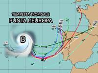 Meteo: una TEMPESTA TROPICALE punta l'EUROPA e avrà EFFETTI anche in Italia. Ecco QUALI e QUANDO