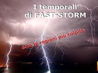 Meteo - Fast STORM porta temporali e FENOMENI VIOLENTI, ecco DOVE [VIDEO]