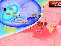 Meteo ITALIA: da GIOVEDI 26 il tempo cambia, CALO TERMICO anche di  8°C