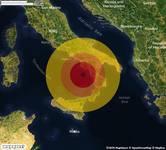 TERREMOTO in provincia di SALERNO, in CAMPANIA, a Capo Palinuro. Magnitudo 3.4. Ecco QUI i DETTAGLI