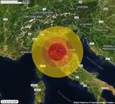 TERREMOTO nella zona di Firenze (FI) con STIMA PROVVISORIA Magnitudo tra 2.9 e 3.4. A breve altri dettagli.