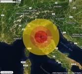 TERREMOTO in provincia di FIRENZE, in TOSCANA, a Vicchio. Magnitudo 3.1. Ecco QUI i DETTAGLI
