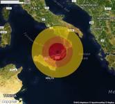 TERREMOTO su Golfo Di Gioia. Magnitudo 3.4. Ecco QUI i DETTAGLI