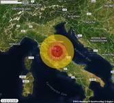 TERREMOTO in provincia di PERUGIA, in UMBRIA, a Assisi. Magnitudo 2.9. Ecco QUI i DETTAGLI