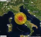 TERREMOTO in provincia di RIETI, in LAZIO, a Configni. Magnitudo 2.7. Ecco QUI i DETTAGLI