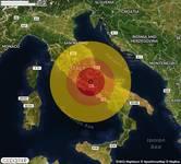TERREMOTO in provincia di FROSINONE, in LAZIO, a Sora. Magnitudo 3.4. Ecco QUI i DETTAGLI