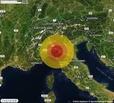 TERREMOTO in provincia di PARMA, in EMILIA ROMAGNA, a Salsomaggiore Terme. Magnitudo 2.9. Ecco QUI i DETTAGLI