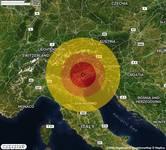 TERREMOTO nella zona di Treviso (TV) con STIMA PROVVISORIA Magnitudo tra 3.4 e 3.9. A breve altri dettagli.