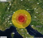 TERREMOTO in provincia di TREVISO, in VENETO, a Combai. Magnitudo 3.7. Ecco QUI i DETTAGLI