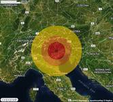 NUOVO TERREMOTO in provincia di TREVISO, in VENETO, a Combai. Magnitudo 3.6, la SECONDA nelle ultime 24 ore