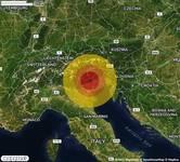 TERREMOTO in provincia di TREVISO, in VENETO, a Valdobbiadene. Magnitudo 2.7. Ecco QUI i DETTAGLI