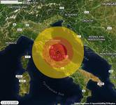 TERREMOTO in provincia di MACERATA, nelle MARCHE, a Visso. Magnitudo 3.8. Ecco QUI i DETTAGLI