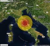 TERREMOTO in provincia di MACERATA, nelle MARCHE, a Ussita. Magnitudo 2.9. Ecco QUI i DETTAGLI