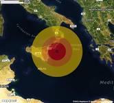 TERREMOTO in provincia di REGGIO CALABRIA, in CALABRIA, a Capo Spartivento. Magnitudo 3.1. Ecco QUI i DETTAGLI