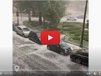 Meteo Cronaca DIRETTA: TORINO, Super GRANDINATA spacca TUTTO nella città della MOLE. Il VIDEO