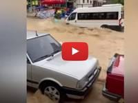 Meteo Cronaca DIRETTA: TURCHIA, improvvise INONDAZIONI mandano sott'acqua ANKARA. Il VIDEO