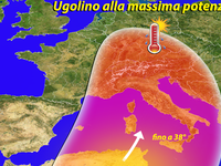 METEO | caldo africano in aumento, UGOLINO fa scoppiare l'estate in Italia! [VIDEO]