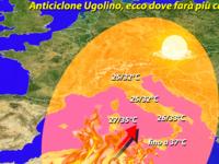 Meteo ITALIA / anticiclone UGOLINO, ecco dove farà più CALDO! [VIDEO]