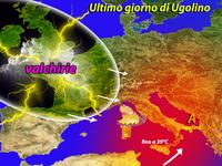 METEO - caldo RECORD in Sicilia, Ultimo giorno di Ugolino, quasi 39° al Sud!