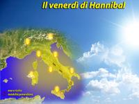 METEO, sole di Primavera, ma che bella giornata con HANNIBAL! [VIDEO]